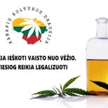 Legalizuoti, kontroliuoti, mokyti, gydyti